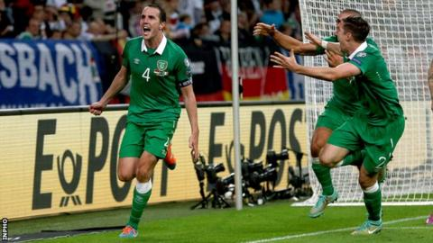O'Shea's 93rd minute equaliser against Germany helped the Republic qualify for Euro2016