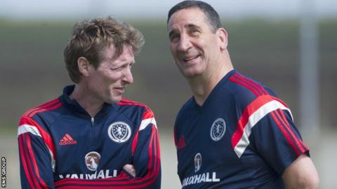 Scot Gemmill (left) will take over from Ricky Sbragia