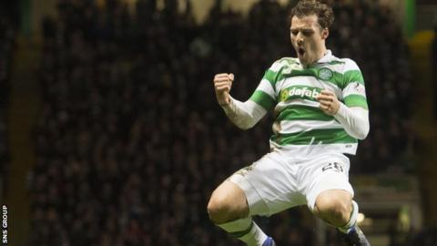 Erik Sviatchenko won five trophies during his time at Celtic