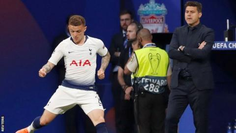 Kieran Trippier: Tottenham right-back to join Atletico Madrid for £20m