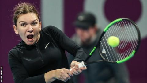 Halep stuns Svitolina to reach Qatar Open final