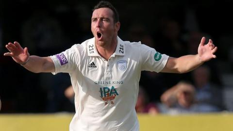Kyle Abbott played for Worcestershire as an overseas player in 2016