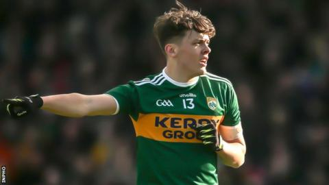 David Clifford made his Kerry senior debut in Sunday's Football League win over Donegal