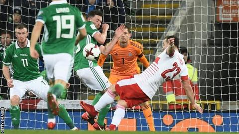 Northern Ireland manager Michael O'Neill said his players had felt very hard done by following the penalty decision