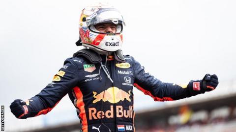 Max Verstappen wins