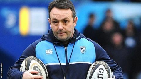 Matt Sherratt has spent the last two seasons on the coaching staff in Swansea with Ospreys