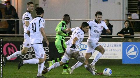 Truro City v Forest Green