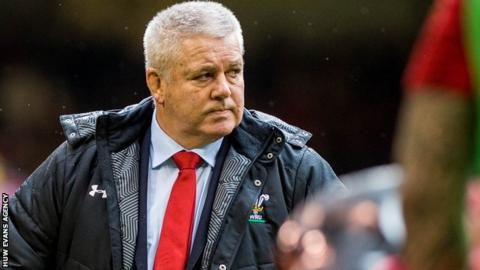 Wales name World Cup training squad