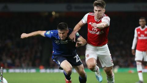 Martinelli opens Arsenal account as Forest fails