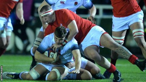 Sam Wainwright has been capped by Wales at Under-20 level