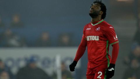 Wilfried Bony goes off injured