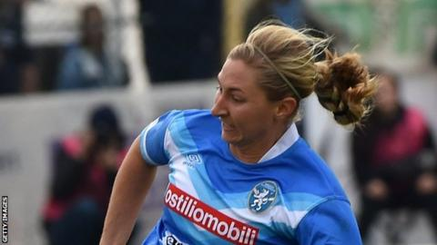 Brooke Hendrix finished as a runner up with Brescia in Serie A and the Italian Cup last season