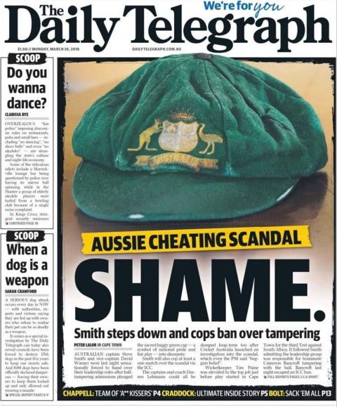 The Daily Telegraph in Australia