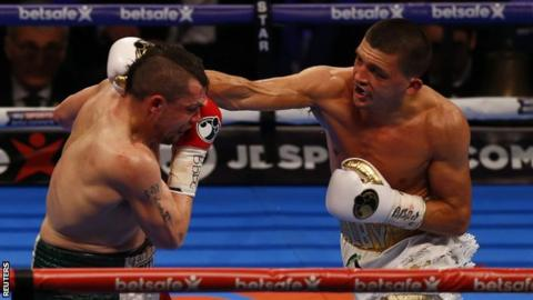 Lee Selby v Andoni Gago