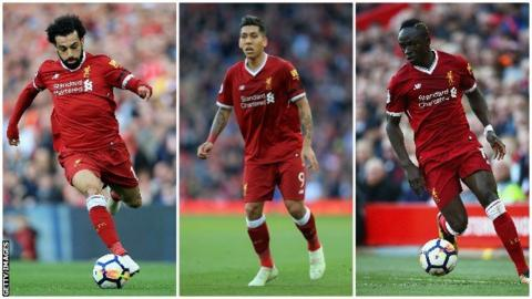 Liverpool's attacking trio