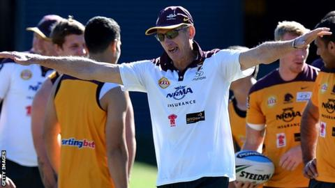 Wayne Bennett points