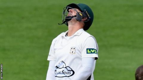 Worcestershire batsman Alex Gidman