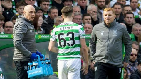 Kieran Tierney: Celtic defender set to miss Scotland games