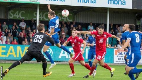 Gap Connah's Quay v FK Vojvodina