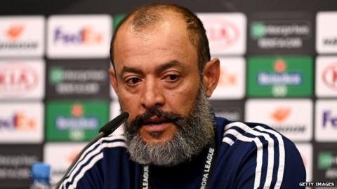 sports Wolves boss Nuno Espirito Santo