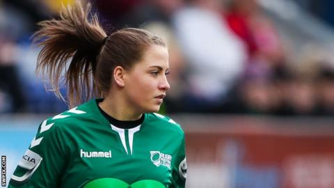 Tara Jones was the in-goal judge for Wigan v Wakefield on 11 March
