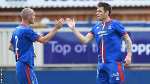 Inverness finished third in the Premiership last season