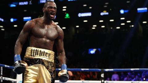 Dillian Whyte targets title fight with Deontay Wilder