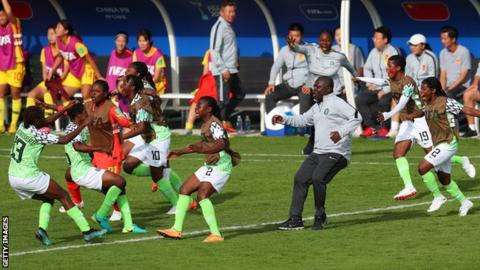 Late draw earns Super Falconets quarter-final spot
