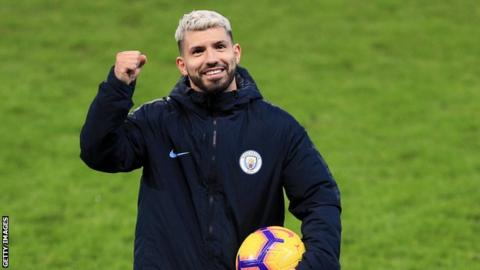 Sergio Aguero has scored five of his 11 Premier League hat-tricks since the  start of 2018. f442af13607