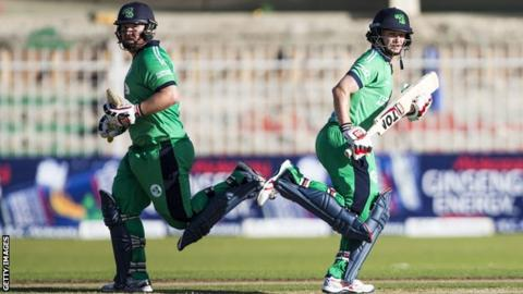 Ireland will hope openers Paul Stirling and William Porterfield can lay the foundation for a big score against Afghanistan