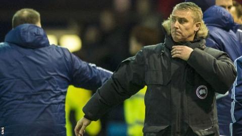 Former Kilmarnock manager Lee Clark