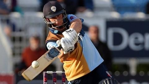 Former Derbyshire all-rounder Scott Elstone