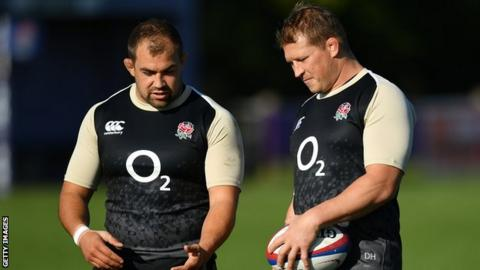 Ben Moon and Dylan Hartley