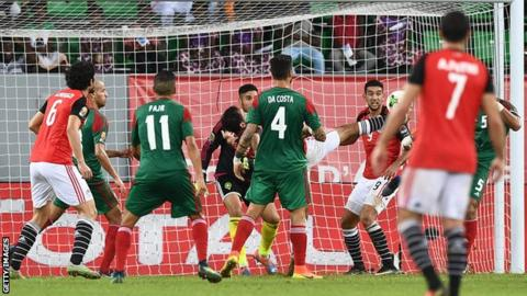 Egypt claim a dramatic late winner