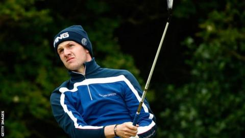 Connor Syme played in the Open at Royal Birkdale