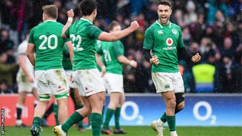 Ireland v England in the Six Nations