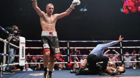 Kovalev is now expected to face Saul 'Canelo' Alvarez