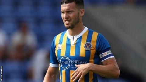 Mat Sadler captained Shrewsbury Town in both their losing Wembley final appearances in 2018