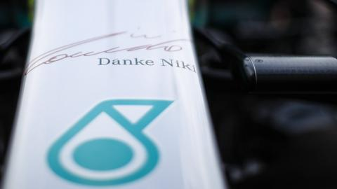 Mercedes Niki Lauda tribute