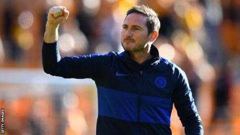 Frank Lampard: Have expectations changed at Chelsea this season?