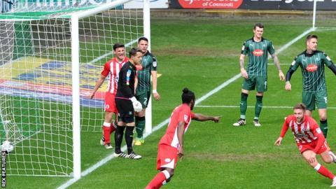 Plymouth 0-1 Accrington