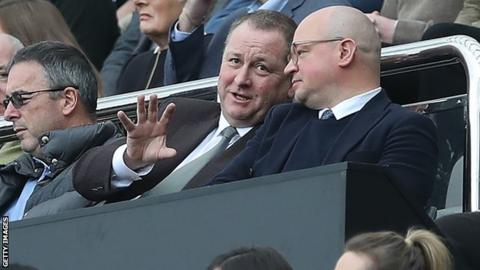 Sports Direct boss Mike Ashley eyes imminent sale of Newcastle United