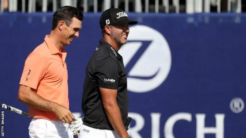 Kevin Kisner-Scott Brown have lead at Zurich