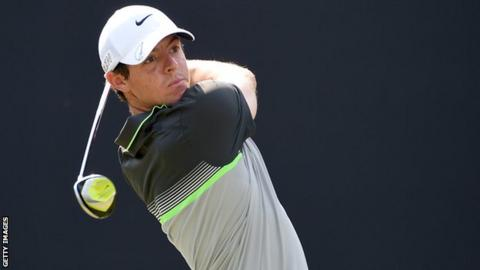 Rory McIlroy lies in a share of fourth position in Dubai