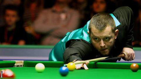 Mark Allen won last season's Masters title