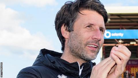 Cheltenham FC Danny Cowley