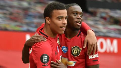 Mason Greenwood scored twice in Manchester United's 5-2 win over Bournemouth