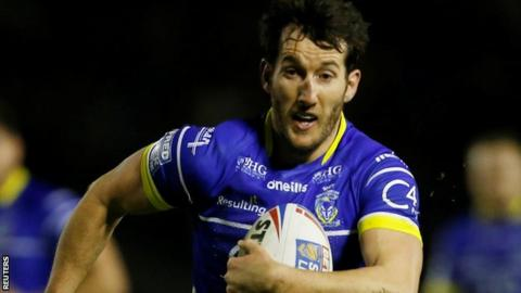 Warrington full-back Stefan Ratchford