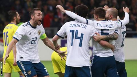Russia did what Scotland could not, by winning in Kazakhstan