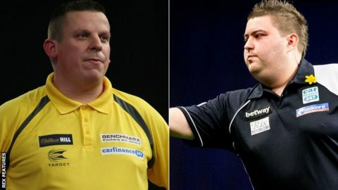 Dave Chisnall and Michael Smith